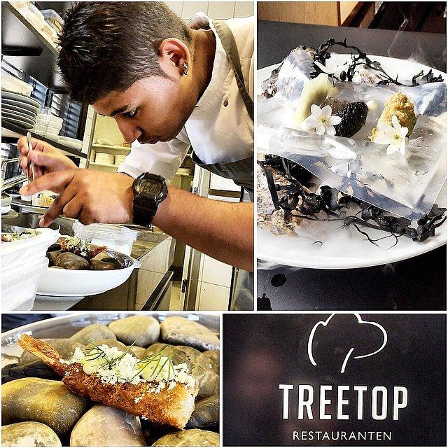 Skyder billeder på TreeTop idag af Bryan Franciscos alt for lækre mad! @bryanfrancisco1 #raisfoto #food #treetop #munkebjerg #lovemyjob