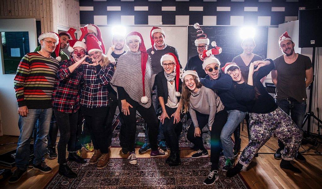 Jul på Rudehøj