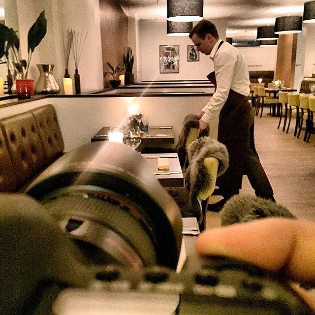 Shooting pictures at @restaurantvaldemar I Kolding tonight  #raisfoto #lovemyjob