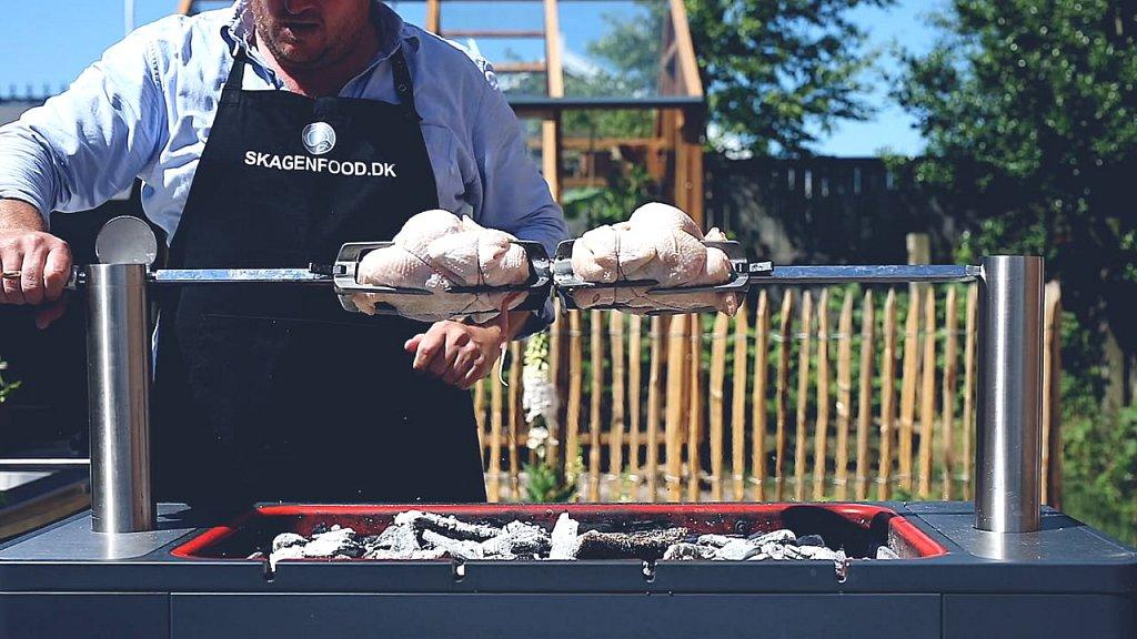 Skagenfood - Grillet kylling